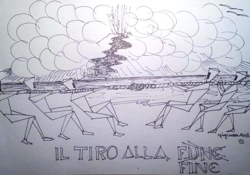 IL TIRO ALLA FUNE,CIOE' LA FINE